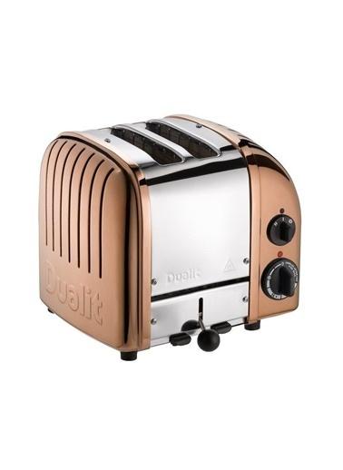 Quail Quail Dualit 27390 Classic El Yapımı 2 Hazneli Çelik Bakır Ekmek Kızartma Makinesi Bakır